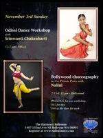 Indian Classical Odissi and Bollywood Dance Workshops