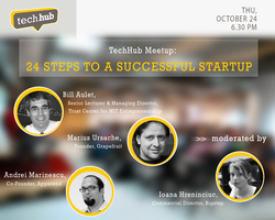 TechHub Meetup: 24 Steps to a Successful Startup