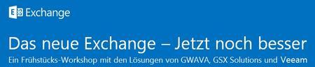 Frühstücks-Workshop: Das neue Exchange - Jetzt noch...