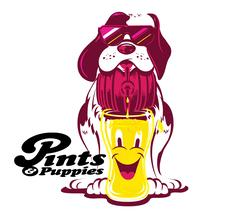 Pints & Puppies logo