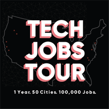 Tech Jobs Tour logo