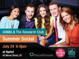 sfAMA & The Research Club's First Summer Social