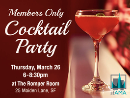 Members Only Cocktail Party @ Romper Room