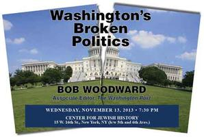 Washington's Broken Politics with Bob Woodward