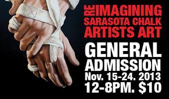 Reimagining Sarasota Chalk Artist Art Exhibition and Sa...