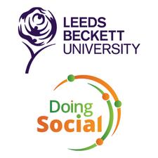 Leeds Beckett University and Doing Social logo