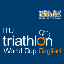 ITU Triathlon World Cup Sardegna logo