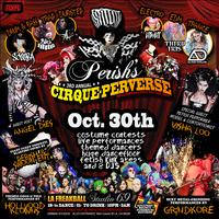 "TONIGHT! ★ Perish's (Studio 69) ""CIRQUE-PERVERSE""..."