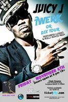 """Juicy J """"Twerk or Die Tour"""" LIVE @ Club Cinema"""