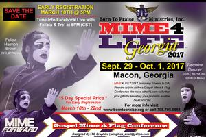 MIME4LIFE 2017 Georgia | Gospel Mime & Flags Conference