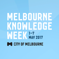 Melbourne Knowledge Week 2017 logo