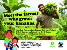 Meet Wilson and Kelly -  Fairtrade Banana Farmer Tour
