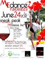 ME Dance, Inc. Fundraiser / Wine Down and Relax