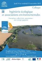 Colloque : Ingénierie écologique et associations...
