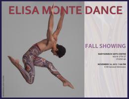Elisa Monte Dance Fall Showing