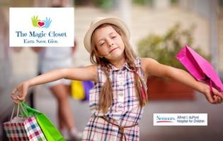 Magic Closet Sale Friday 9am - 8pm