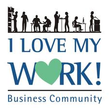 I Love My Work Bussiness Community logo