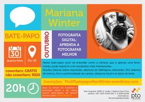 SP :: Bate-papo :: Mari Winter :: Fotografia digital