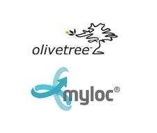 Myloc och Olivetree logo