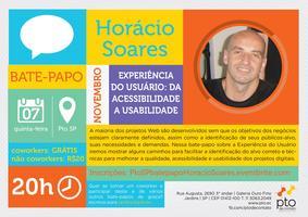 SP :: Bate-papo :: Horácio Soares :: Experiência do...