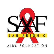San Antonio AIDS Foundation (SAAF)  logo