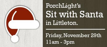 PorchLight's Littleton Sit With Santa