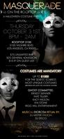 Masquerade on the Rooftop...A Halloween Costume Party...