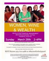 Women, Wine & Wealth Mixer this Sunday