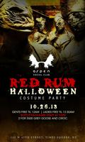 "Sat Oct 26th ""RedRum Halloween Party"" Everyone Free B4..."