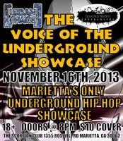 The Voice Of The Underground Showcase 11/16/2013