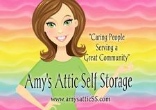 Amy's Attic Self Storage logo