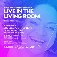 Living Room 1567 Broadway angela birchett- one night only tickets, mon, apr 3, 2017 at 8:00