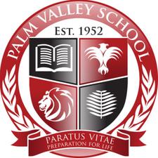 The Palm Valley School  logo
