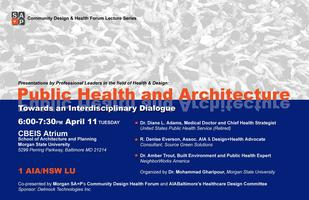 Public Health and Architecture: Towards an...