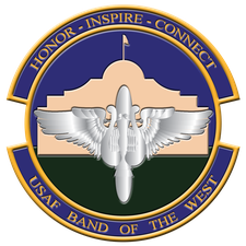 USAF Band of the West logo