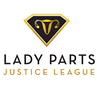 Lady Parts Justice League logo