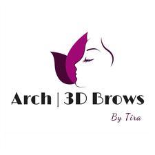 Arch 3D Brows.  logo