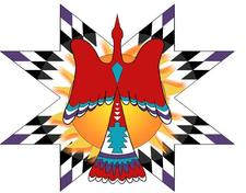 Redhawk Native American Arts Council logo