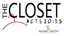 The Closet @ Second Baptist Church Lancaster logo