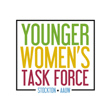 Stockton Younger Women's Task Force logo