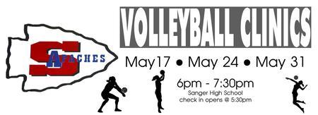 2017 Volleyball Clinics************  Wednesday Nights...