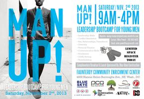 Man Up!  Leadership Bootcamp for Young Men