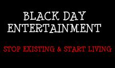 BLACK DAY ENTERTAINMENT / IN THE MIXXX TRAVEL logo