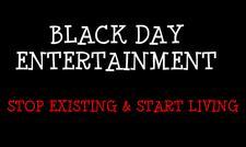BLACK DAY ENTERTAINMENT logo
