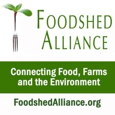 Marty's Reliable Cycle and Foodshed Alliance logo