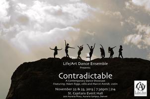 Life/Art Dance Ensemble Presents: Contradictable