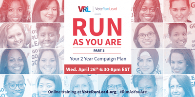 """Run As You Are"" Part 3 of 3: Your 2018 Campaign Plan"