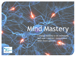 Mind Mastery: Making Money Is All In Your Head