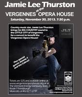 Jamie Lee Thurston Vergennes Opera House Benefit Concer...