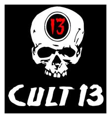 CULT 13 logo